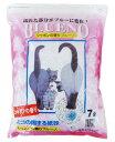 ブルーに変わり固まる紙砂 BLUENO ブルーノ シャボンの香り 7L ■ 紙系の猫砂 ねこ砂 ネコ砂 猫の砂 猫のトイレ