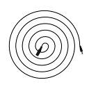 DCケーブル 5m 延長コード DCジャック DCプラグ DCコネクタ ケーブル 延長 延長ケーブル DC ジャック プラグ 5m 外径5.5mm 内径2.1m...