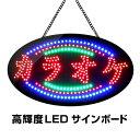 LED�T�C���{�[�h �J���I�P ���� 380�~680 LED �Ŕ� �T�C���{�[�h �I�[�v�� open