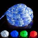 LED チューブライト 10m 360球 防水 16の点灯パターン チューブ チューブライト ロープライト