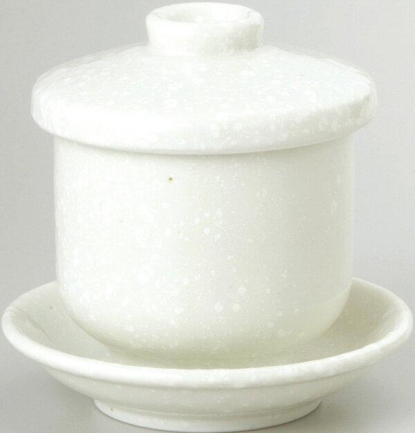 蒸碗(粉引)