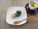 【白い食器】白 15cmソフトスクエアプレート【アウトレット込み】【角皿】【陶器】
