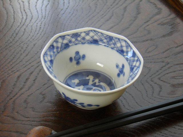 八角珍味鉢 福濃格子の商品画像