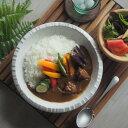 カレー皿 粉引 8寸深皿 白釉ヒダ 食器 カレーライス 汁なし担々麺 まぜそば 丸皿 おしゃれ オシャレ 美濃焼 おうち時間