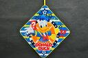 ★SALE★【10%OFF】【メール便対応】(3枚まで!同梱OK!柄違いもOK!)[ディズニー] ループタオル2015ドナルド「ドナルドフロート」Disne..