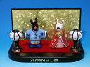 リサとガスパール おひなさま(陶器製)[お雛様][お雛さま][おひな様][おひなさま][桃の節句][ひな人形][雛人形][お雛様ミニ][三月][ひな祭り][コン...