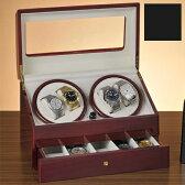 DXウォッチワインダー(4連)【腕時計 自動巻 ワインディングマシーン 4本】【送料無料】 10P27May16