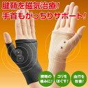 腱鞘サポーター 着圧磁気ら〜く(4枚組) 【手首 サポーター 腱鞘炎】 10P03Dec16