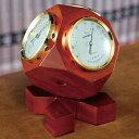 トリオ気象計 【卓上 インテリア 温度計 湿度計 気圧計 天然木 エンペックス BM-633】【送料無料】