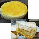 ショッピング正月 [送料無料/お買い得2ホール][半生イタリアンチーズケーキ]と洋ナシとオレンジのレアーチーズケーキのセット]直径14.5/8カット/マスカルポーネチーズ/洋ナシ練りこみレアーチーズ/半生チーズ/バースディー/お歳暮/お正月手土産/クリスマスプレゼント/10P03Dec16