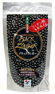 Ultra fine powder of 黒焼 black soybean black singer black soybean incense 琲 120 g family Pack.