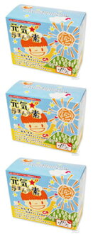 Genki☆Gaman (Source of Energy and Patience) 120g (2g x 60 packets) x 3 boxes
