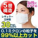 高機能マスク インフルライフセーバー 立体(3D)型 レギュラーサイズ