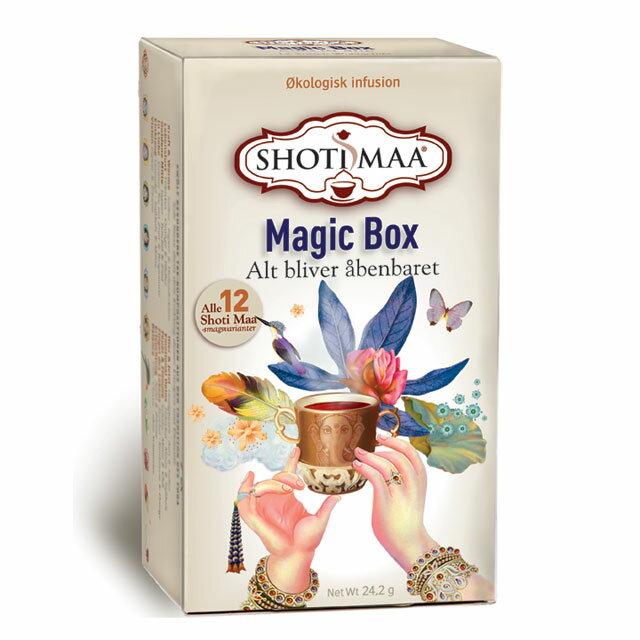 ハーブティー カフェインフリー オーガニック 「ショティマーティー (Shoti Maa Tea)」MagicBox12包