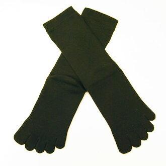 高水準遠紅外線墊 Alphawave 五手指襪子男裝 26 釐米