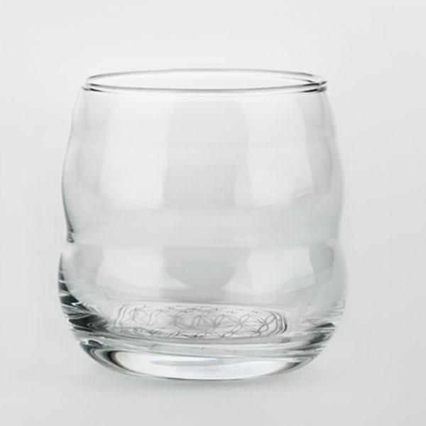 Nature's Design/ネイチャーズデザイン ミソス・プラチナムグラス 1個|コップ ガラス ガラスコップ おしゃれ 吹きガラス グラス 活性水 ガラスグラス ギフト ぐらす 食器 高波動 北欧