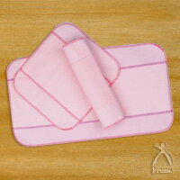 Body and environment-friendly cloth napkins tenderness-5 Pack