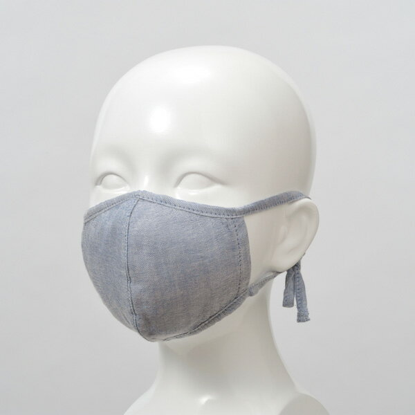 竹布 TAKEFU タケフ うるおいマスク キッズ浅藍の商品画像