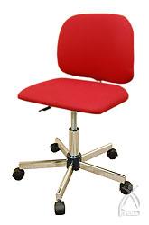 姿勢矯正イス 「禅チェア」 レッド/赤 (Zen Chair) 送料無料 ガス圧調整/仕事・学習の集中力向上。座禅の姿勢で背筋まっすぐ!猫背・姿勢矯正。受験イス、オフィスチェア、学習椅子、学習チェア