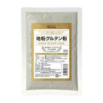 大澤日本地面麵粉麵筋免費 100 g