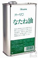 オーサワ オーサワなたね油(缶) 930g