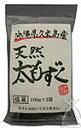 沖縄海星物産 久米島産天然太もずく(塩蔵) 100g×2袋