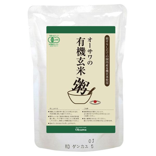 オーサワジャパン 有機玄米あずき粥 200g