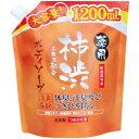 薬用 柿渋エキス配合ボディソープ 大容量 1.2L[ボディソープ][特]