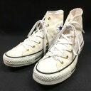 コンバース CONVERSE オールスター Gスタッズ ハイカットスニーカー 靴 3.5 22.5cm ホワイト 白 SSAW レディース 【中古】【ベクトル 古着】 171224 VECTOR×Refine