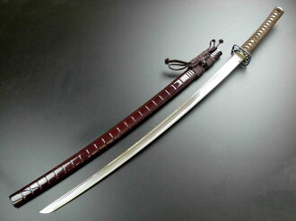 Reprint sword iaito practice swords staggered character (v-shaped tadakichi) Claymore