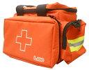 【送料無料】エルモ 防災用救急かばん 救急バッグ Mサイズ(約40×23×高さ21cm・容量約10L)・衛生セット付属