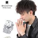 【ファッション誌掲載】VJ【ブイジェイ】 K18 ホワイトゴールド メンズ ビザンチン