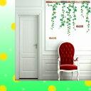 ウォールステッカー 木 花 アイビー 緑のつた 植物 ツリー...