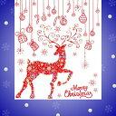 ウォールステッカー クリスマス サンタクロース ステッカー ...