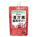 らくらく服薬ゼリー漢方薬用イチゴチョコ 1袋 JAN4987240601388