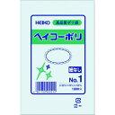 HEIKO ポリ規格袋 ヘイコーポリ 03 No.1 紐なし 1袋 (006610101)