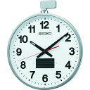 ショッピング掛け時計 SEIKO ソーラー屋外用大型電波掛時計 527×450×78 金属枠 1個