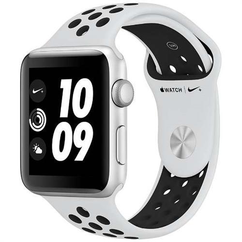 アップルウォッチ 本体 ナイキ Apple Watch Series 3 Nike+ 38mm シルバーアルミニウムケースとピュアプラチナム/ブラックNikeスポーツバンド シリーズ3 (GPSモデル)MQKX2J/A MQKX2JA
