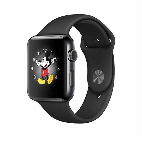 アップルウォッチ 本体 Apple Watch Series 2 38mm スペースブラックステンレススチールケースとブラックスポーツバンド MP4D2J/A MP4D2JA