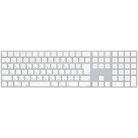 【ポイント最大12倍&現金値引クーポン】Apple(アップル)純正 Magic Keyboard テンキー付き Bluetooth マジックキーボード (iMac/Mac Pro/MacBook/iPad/iPhone対応) 日本語(JIS) シルバー MQ052J/A MQ052JA