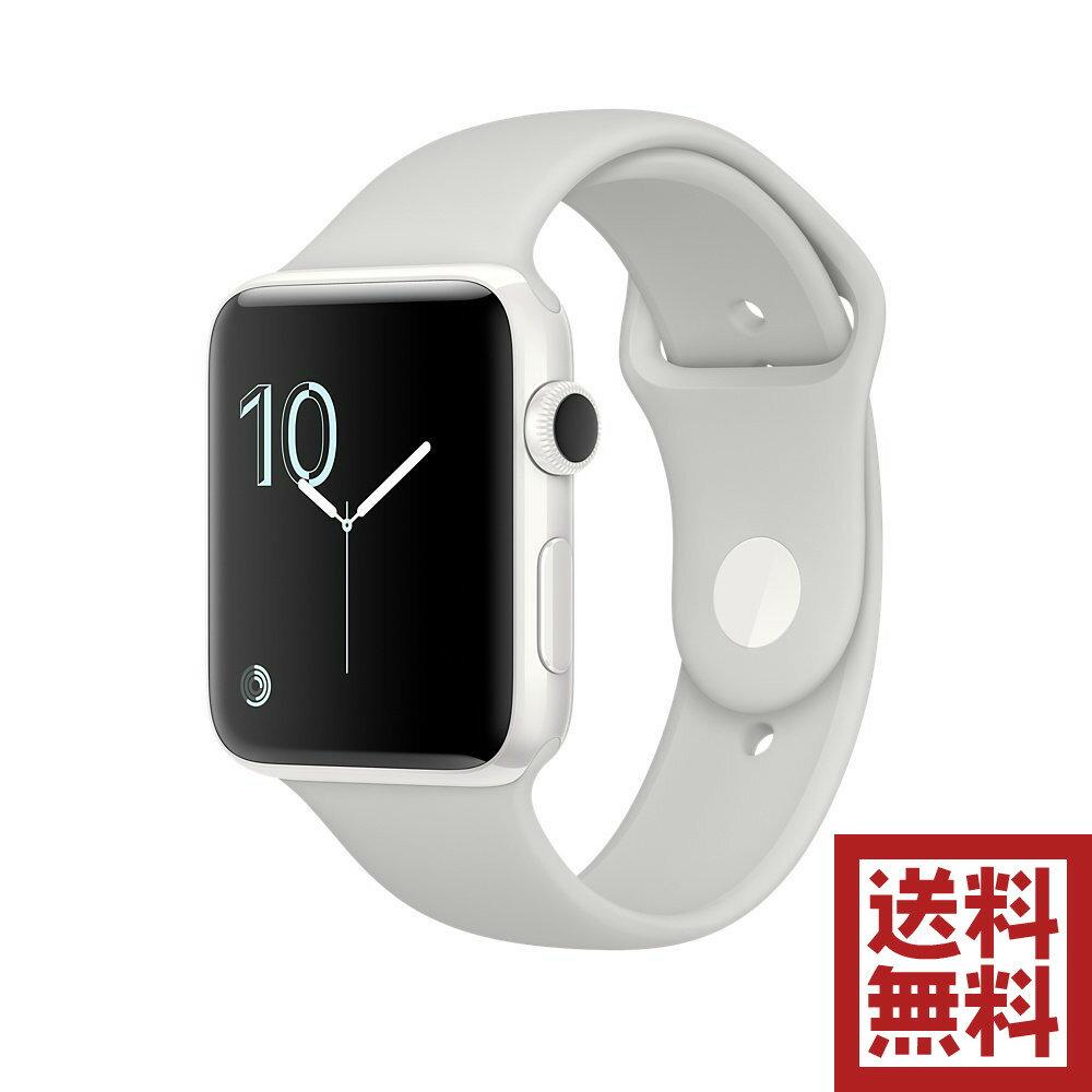 アップルウォッチ 本体 Apple Watch Edition Series2 42mm ホワイトセラミックケースとクラウドスポーツバンド MNUC2J/A【2017年限定モデル】