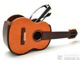 【】【名入れ 小物入れ】ギター メガネスタンド 【即納】【本革/レザー/楽器/雑貨】【日本製/職人のハンドメイド】【楽ギフ包装】【楽ギフ名入れ可能】【VANCA革物語】fs3gm