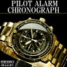 セイコー メンズ腕時計 パイロットアラームクロノグラフ SNA414P1 SEIKO【セイコー】【SEIKO】【腕時計】【クロノグラフ】【海外モデル】【200M防水】【ウォッチ】 送料無料