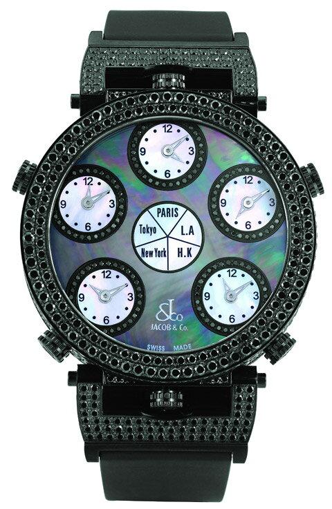 腕時計 ユニセックス JACOB&Co. ジェイコブ 腕時計 SIX TIME ZONE POCKET WATCH jc-lg3dcbd 正規品 送料無料