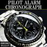 セイコー SEIKO 逆輸入セイコー 腕時計 メンズ パイロット アラーム クロノグラフ セイコー 海外モデル メンズ腕時計 ウォッチ うでとけい ミリタリー ウォッチ メンズ クロノグラフ タキメーター 200M防水 送料無料