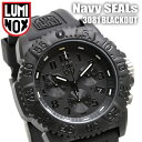 I move 3081 Lumi Knox luminox LUMINOX blackout navy Shields LUMINOX BLACKOUT Navy Seals watches men's arm and am, and a chronograph is free shipping