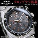 テクノス メンズ腕時計 T1019TH TECHNOS 送料無料