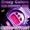 CASIO G-SHOCK クレイジーカラーズ DW-6900CC-6DR DW-6900CC-6 送料無料