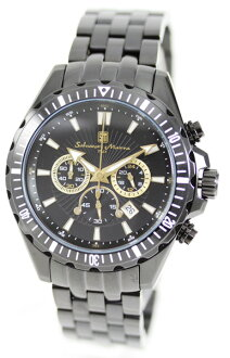 Rakuten supermarket sale / supermarket SALE Salvatore Mara men watch SM10111-IPBKGD Salvatore Marra