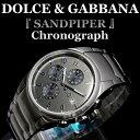 腕時計メンズD&G人気ブランドドルチェ&ガッバーナD&GDOLCE&GABBANASANDPIPRクロノグラフメンズ腕時計メンズウォッチ3719770123スーツビジネスドルチェアンドガッバーナサンドパイパー送料無料
